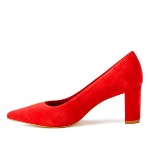 Samantha: Red Suede BOUTIQUE COLLECTION