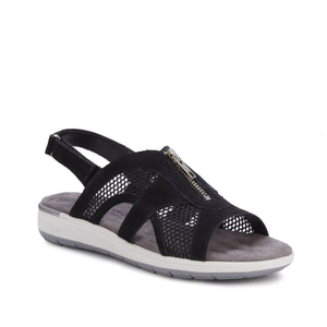 Spencer: Black Nubuck/Black Mesh NEW