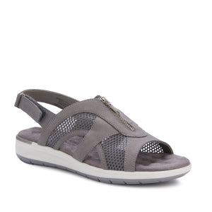 Spencer: Dove Gray Nubuck/Gray Mesh
