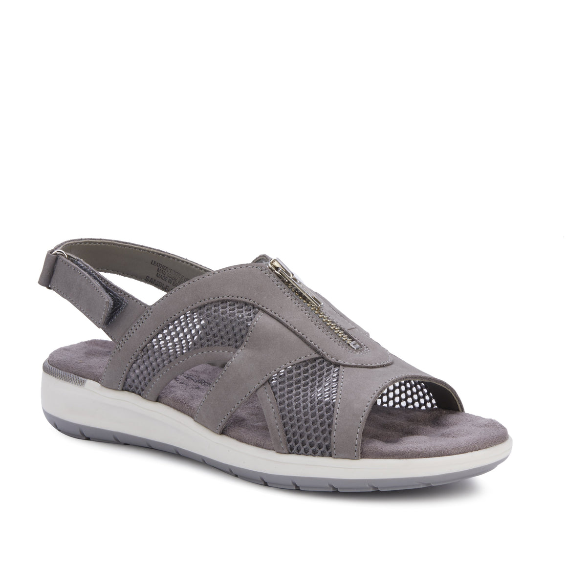 Spencer: Dove Gray Nubuck/Gray Mesh NEW