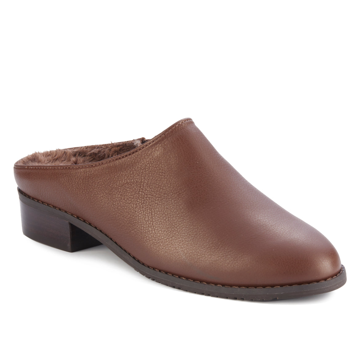 Trace: Brown Light Tumbled Leather NEW