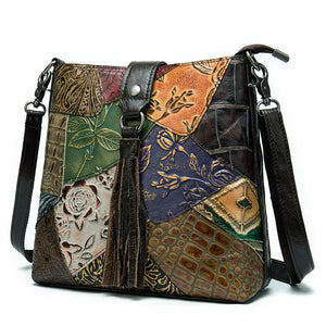 Shoulder Crossbody Leather Ladies Tote Bag