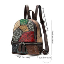 Load image into Gallery viewer, Women Casual Random Spliced Bags Light Weight Backpack