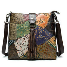 Load image into Gallery viewer, Shoulder Crossbody Leather Ladies Tote Bag