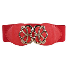 Load image into Gallery viewer, Vintage Waist Belt for Women Fashion Decorative Elastic Wide Belt