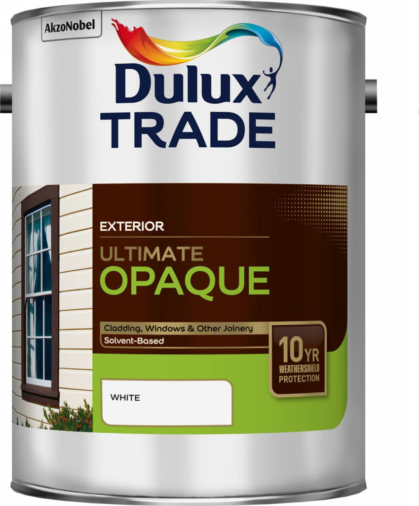Shed fence decking garden furniture the decorators store dulux trade exterior white ultimate solvent based opaque baanklon Image collections