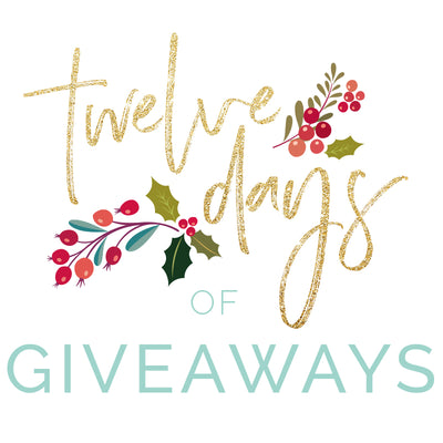 12 days of Giveaways!