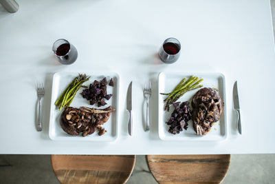 RECIPE: Dry Aged Ribeye Steak Dinner