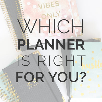 Which Planner Is Right For Me?