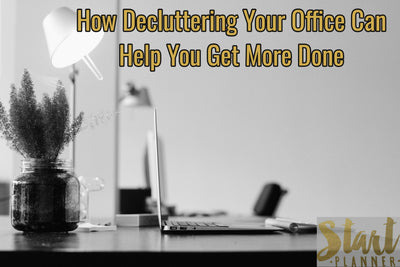 How Decluttering Your Office Can Help You Get More Done