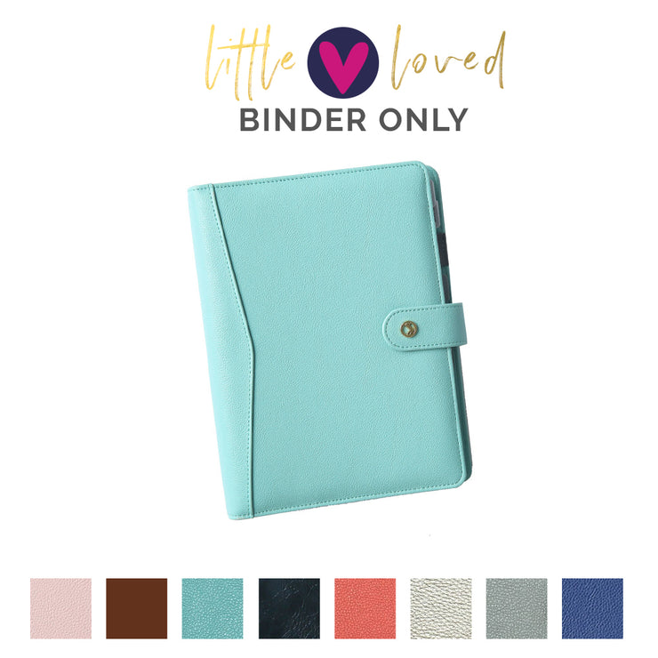 """Little Loved"" Fancy Pants Binders"
