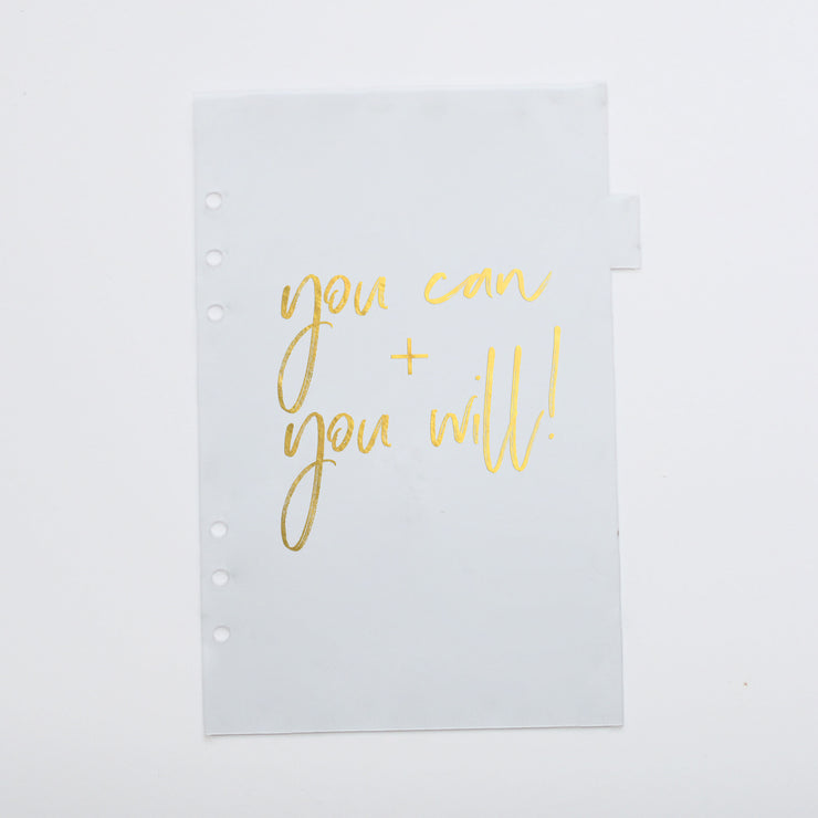 A5 Get Motivated! Dividers