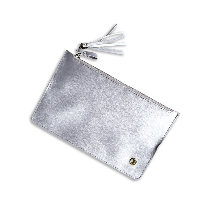 Sidekick Zipper Bag (SILVER!)