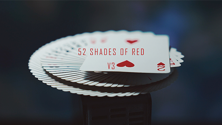 52 Shades of Red (Gimmicks included) Version 3 by Shin Lim