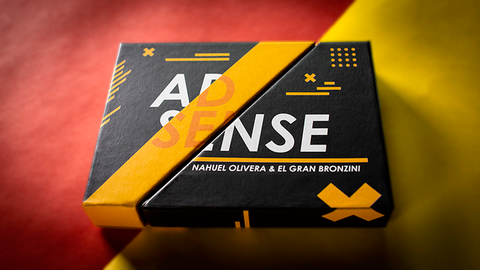 AdSense (Gimmick & Online Instruction) by El Gran Bronzini & Nahuel Olivera
