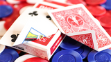 Limited Edition Bicycle Faro (Red) Playing Cards