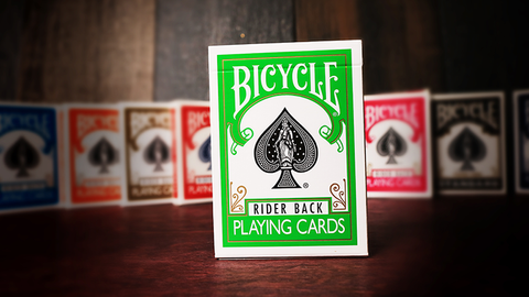 Bicycle Playing Cards (Green) by USPCC