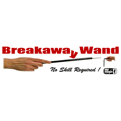 Breakaway Wand (With Extra Piece & Replacement Cord) by Mr. Magic