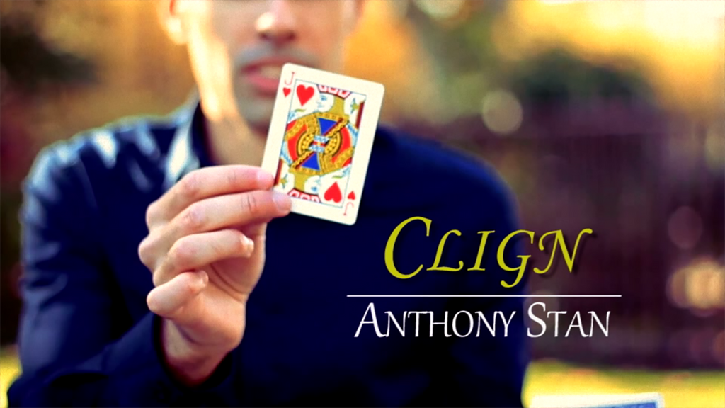 Clign (Gimmicks & Online Instructions) by Anthony Stan & Magic Smile Productions