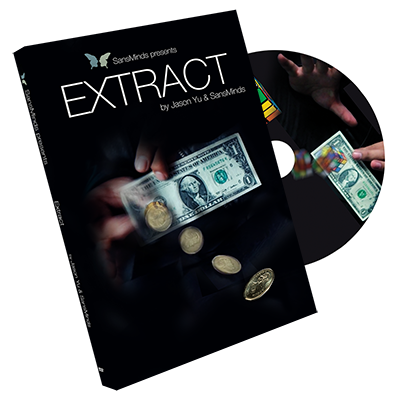 Extract (DVD and Gimmick) by Jason Yu and SansMinds