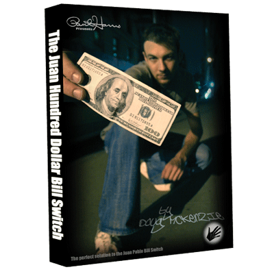 Juan Hundred Dollar Bill Switch (with Hundy 500 Bonus) by Doug McKenzie - Download