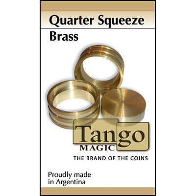 Quarter Squeeze Brass (B0012) by Tango