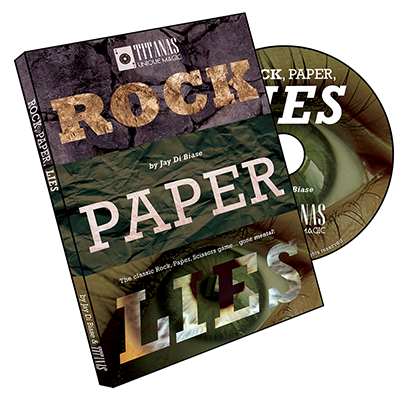 Rock, Paper, Lies by Jay Di Biase and Titanas Magic Productions