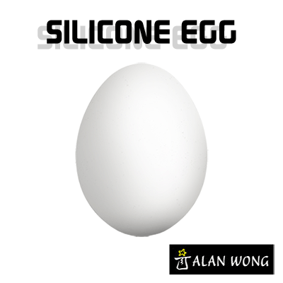 Silicone Egg (White) by Alan Wong