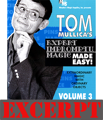 Stern Paper Fold (Excerpt of Expert Impromptu Magic Made Easy by Tom Mullica #3) - Download