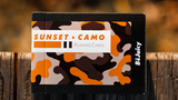 Sunset Camo Playing Cards by Riffle Shuffle