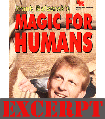 Sweet Flash (Excerpt of Magic For Humans by Frank Balzerak) - Download