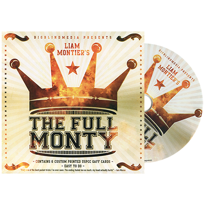 The Full Monty (DVD and Gimmick) by Liam Montier