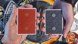 Visa Playing Cards (Red) by Patrick Kun and Alex Pandrea