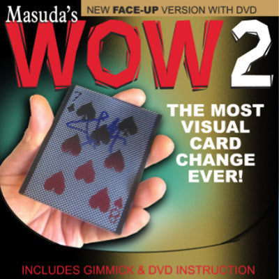 Wow 2.0 (Face Up Version and DVD) by Masuda