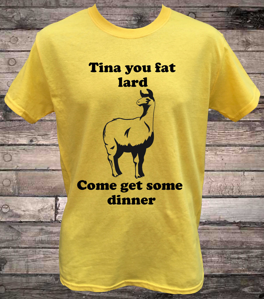 Tina The Llama Napoleon Dynamite T Shirt Hallion Clothing