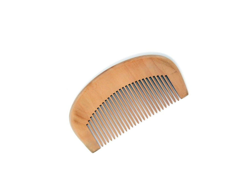 Durable Static-Free Wooden Beard Comb - Wolf's Mane Beard Care