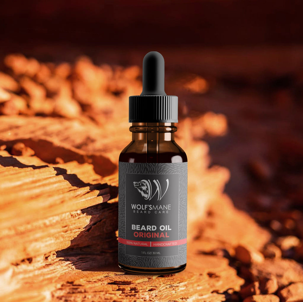Natural Based Conditioning Beard Oil - Original Scent