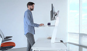 Converting Your Desk To A Standing Desk Is Easier Than You Think