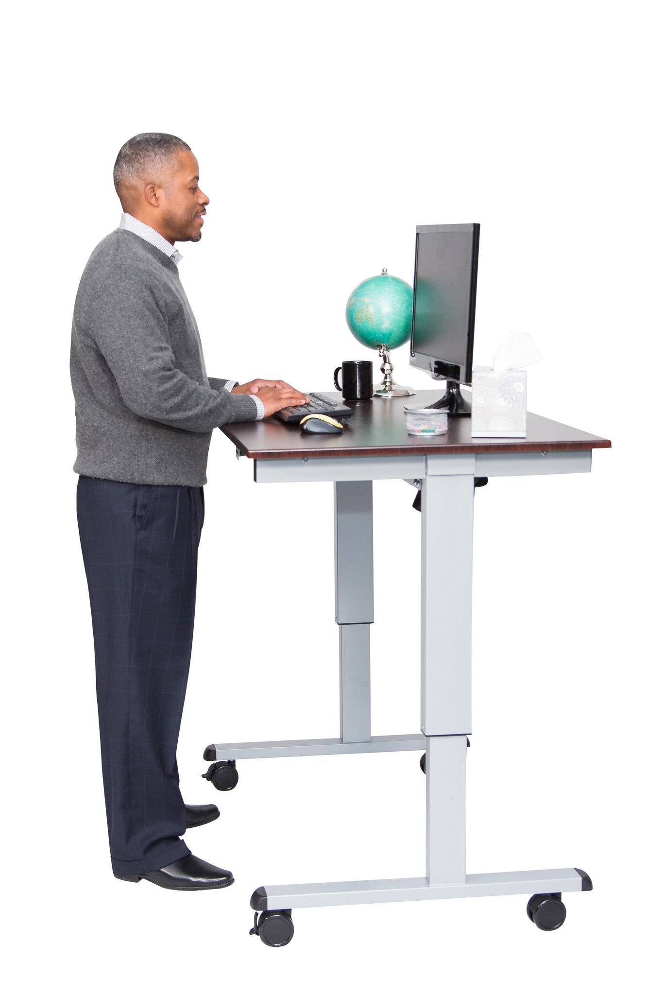 60 Electric Standing Desk Luxor Furniture Stand While