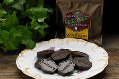 Laura's Hemp Chocolate - Hemp and Dark Chocolate Wafers