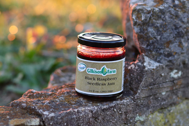 Black Raspberry Jam from the Gilkisons - 10 oz Jar