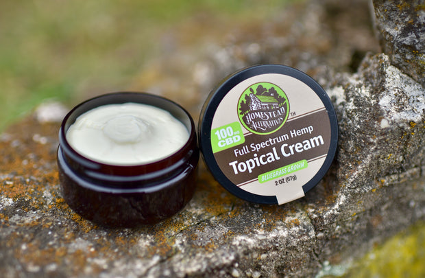 Homestead Alternatives Full Spectrum Hemp CBD Topical Cream (100mg CBD)
