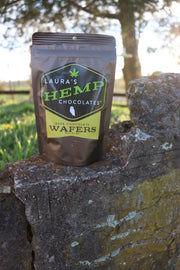 Hemp Dark Chocolate Wafers