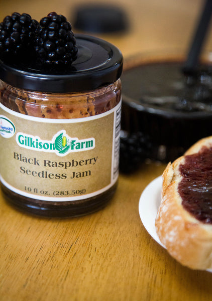 Black Raspberry Jam from the Gilkisons