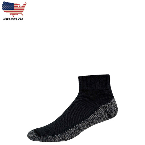 Foot Comfort Diabetic Care Black Quarter Socks
