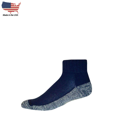 Foot Comfort Diabetic Care Navy Quarter Socks