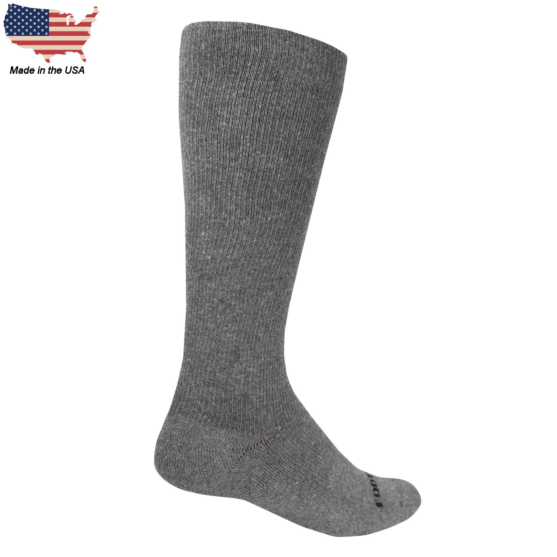 Foot Comfort Graduated Compression Grey OTC Socks