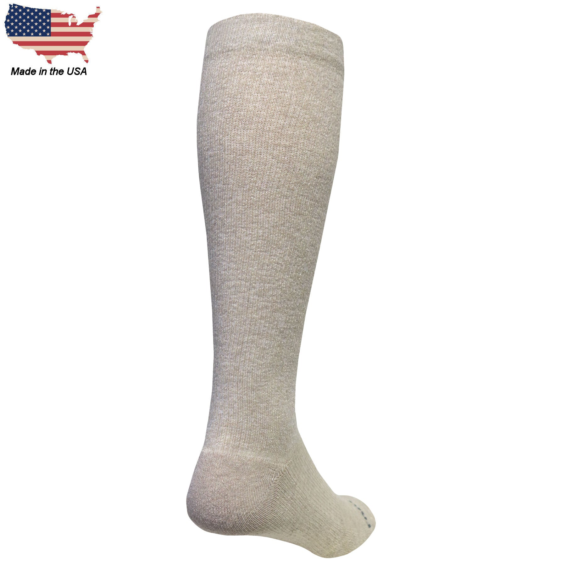 Foot Comfort Recover Graduated Compression Khaki OTC Socks