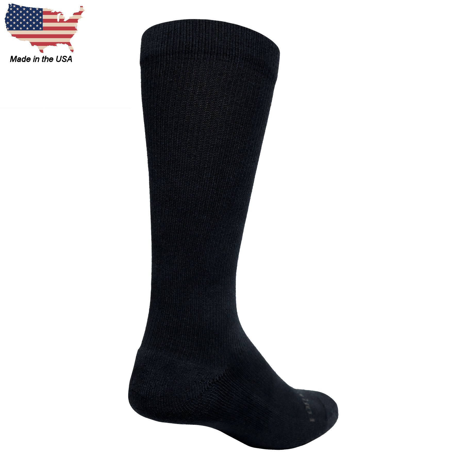 Foot Comfort Graduated Compression Black OTC Socks