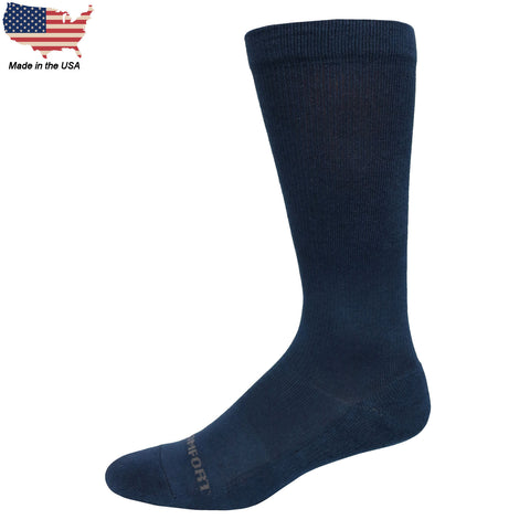 Foot Comfort Graduated Compression Navy OTC Socks